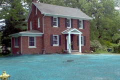 Hydroseeding before